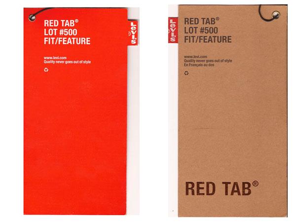 Levi Strauss pocket labels 2000. Farrow Design, Kenneth Levi Strauss