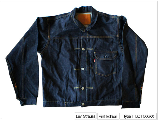 Type I Levi's vintage jacket. Owner Kenneth at buddha Jeans