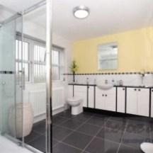 Bathroom Feature Wall - Farrow & Ball Modern Emulsion Dayroom Yellow 233