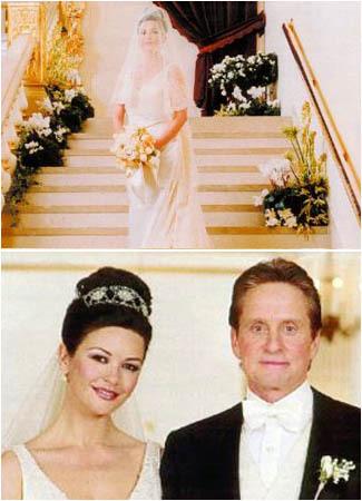 Gaun Pernikahan Termahal Catherine zeta jones