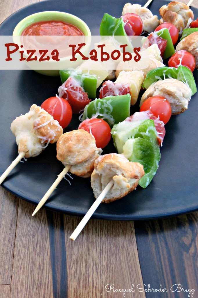 Pizza Kabobs