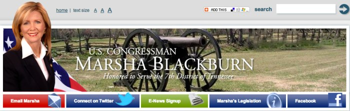 Biography___U_S__Congressman_Marsha_Blackburn