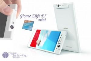 Gionee Elife E7 mini octa-core smartphone