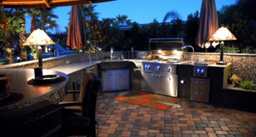 Awesome Outdoor Kitchen Sink