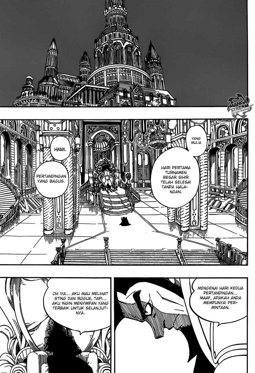 fairy tail Online 277 manga page 10