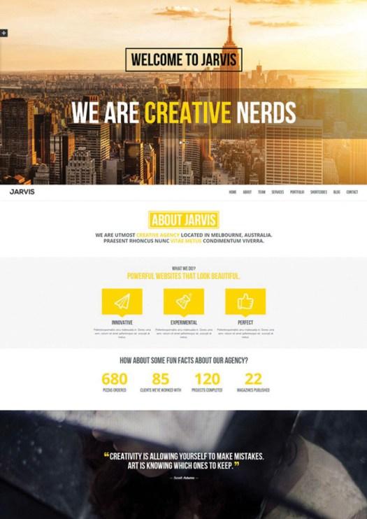 jarvis-parallax-portfolio-theme