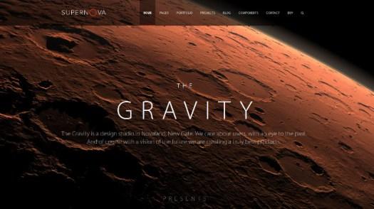 Supernova-WordPress-portfolio-page