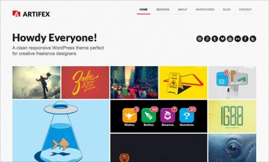 WordPress portfolio theme for photographers