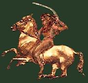 A Kurgan horseman