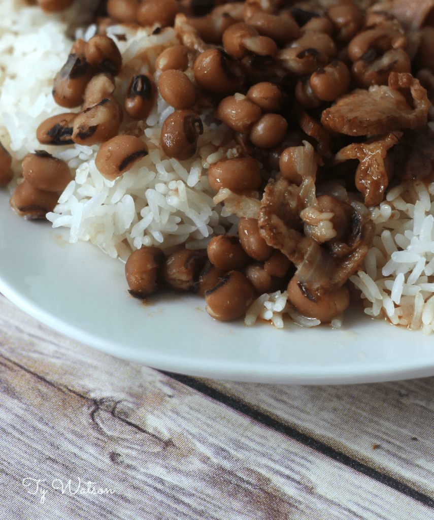Black-Eyed Peas and Rice