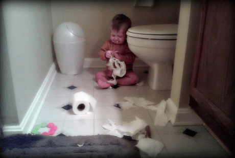 7. At least now his parent will know that it wasn't the dog's fault.
