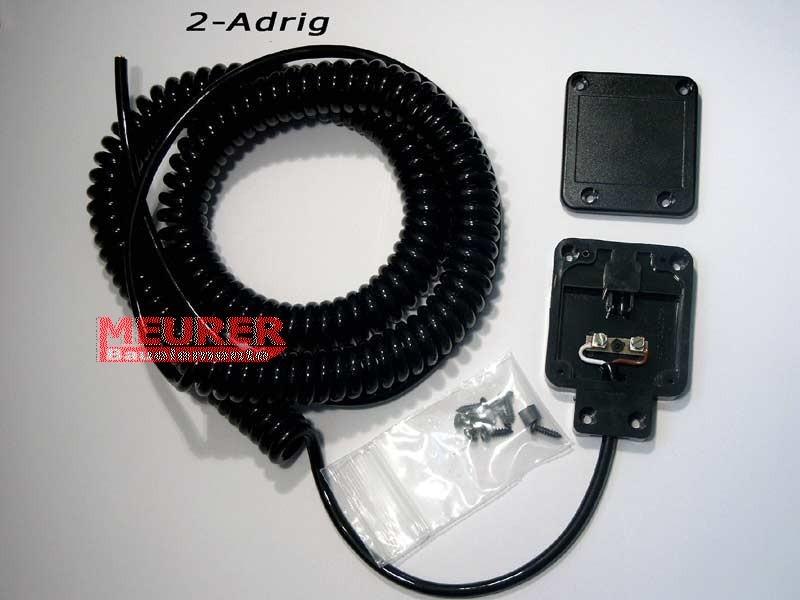 Anschluss-Set Spiralkabel Weller, Kontaktleiste (EKL) für Alulux und Roma Rolltore