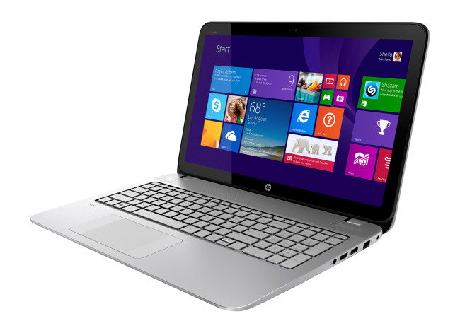 "HP ENVY TouchSmart 15.6"" Touch-Screen Laptop"