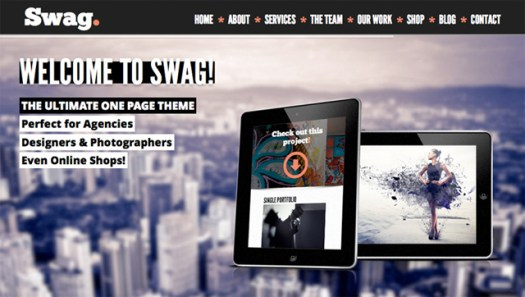 WordPress One Page WooCommerce Themes