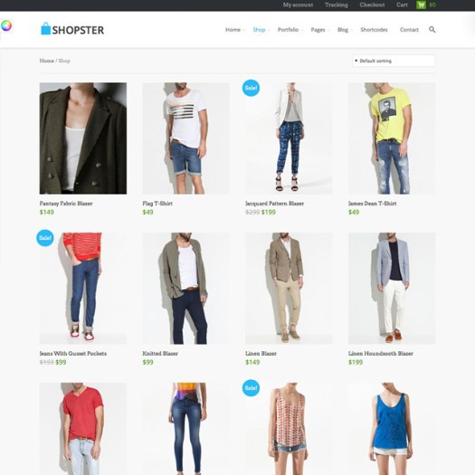 WordPress Pinterest Style WooCommerce Themes