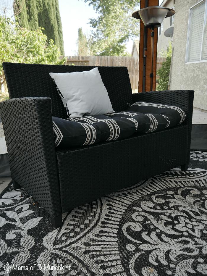Terrasol Marisol Setee Outdoor Cushion