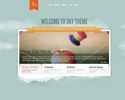 fun WordPress womens theme