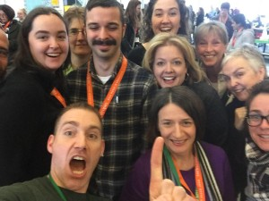 This selfie by Grafton Educators at EdCamp Grafton broke the Internet