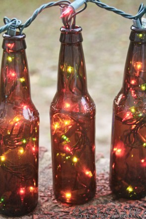 big Beer Bottle Christmas Lights2