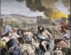 Nebuchadnezzar destroyed Solomon's Temple