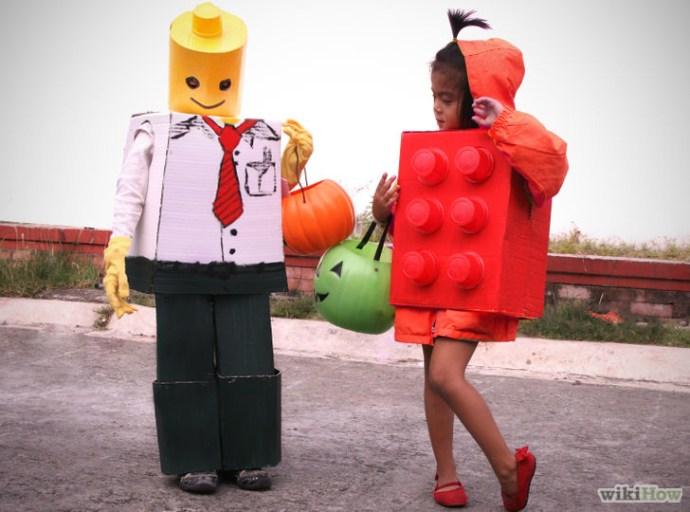 fabriquer un déguisement lego