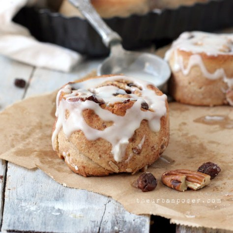Almond Flour Cinnamon Roll Biscuits
