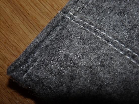 Wool? Carper off-cuts?  Who knows.
