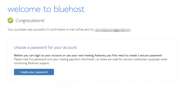 Start a Blog with Bluehost 6