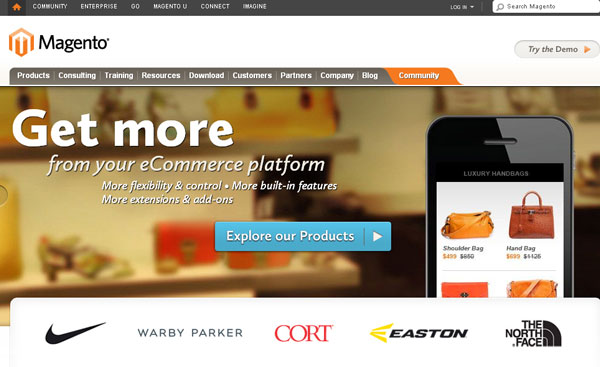 Magento is Best choice For Ecommerce marketplace