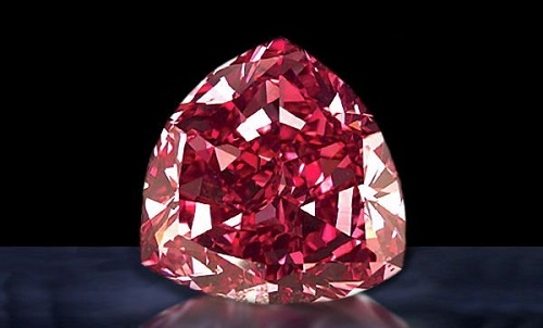 Top 10 Expensive Diamonds in the World The Steinmetz Pink - TOP 10 MOST EXPENSIVE DIAMONDS IN THE WORLD