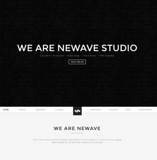 Newave-WordPress-Responsive-One-Page-Parallax