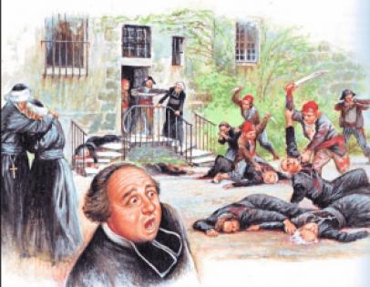 De heilige Petrus Julianus Eymard te Sleihage Hooglede ontkerstening gedurende franse revolutie is bloedbad