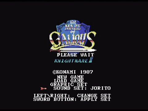 The Maze of Galious Wii