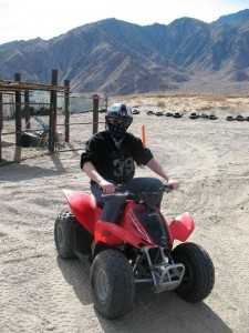 Malcolm Logan at Off Road Rentals in Palm Springs, CA