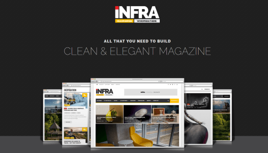 infra magazine wordpress theme