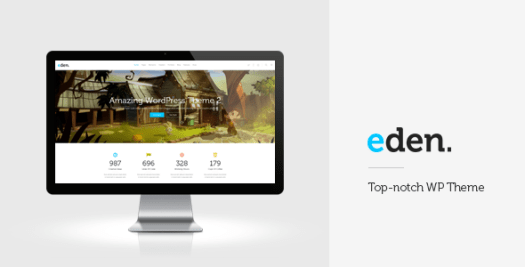 eden wordpress woocommerce theme