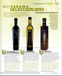 Olivarama-Selección-2013---AOVE-lasolana2---Artículo