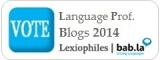Vote the Top 100 Language Professional Blogs 2014