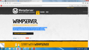 How to Install Wampserver on your Local Drive