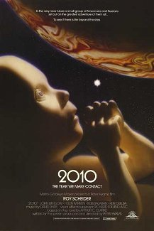 Poster for 2010, sequel to 2001