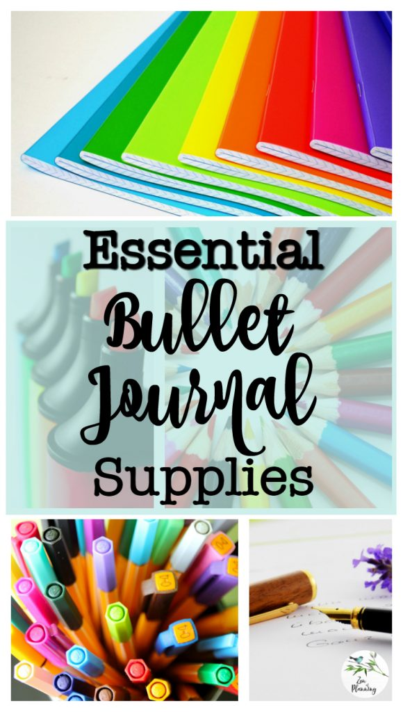 Not sure how to get started? I've put together all you need to know about the Essential Bullet Journal Supplies   Zen of Planning   Planner Peace and Inspiration