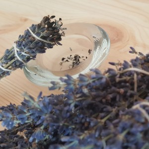 Lavender smudge - smoke those varmints out if necessary.