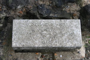 Site of St Augustine's Grave, St Augustine's Abbey, Canterbury (photo bu author)