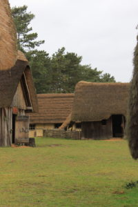 West Stow Anglo-Saxon Village (photo by author)