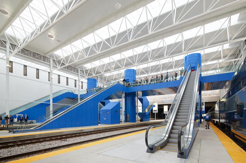 Milwaukee Station Train Shed  Benesch