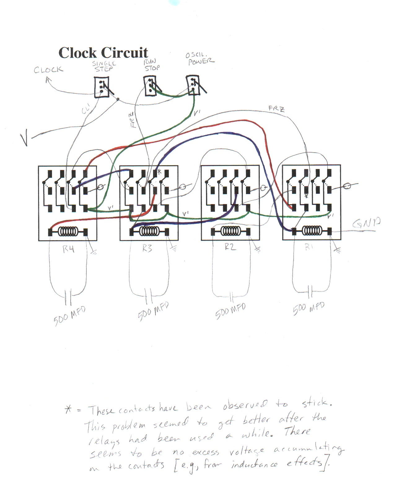 hight resolution of state sequencing circuit