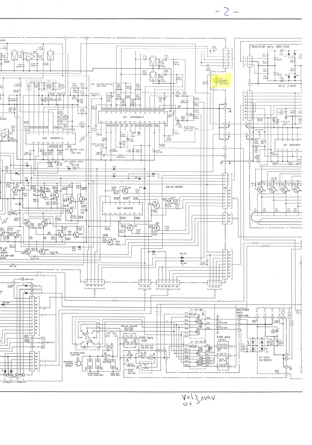 Pioneer Sx Schematic