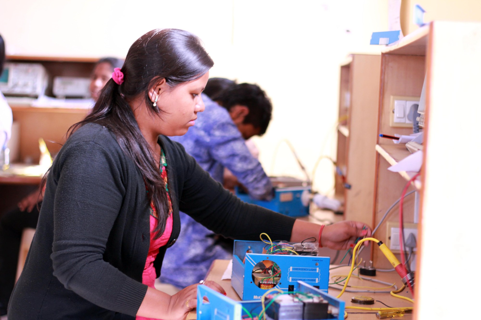 hight resolution of during this course participants learned electrical house wiring as well as build