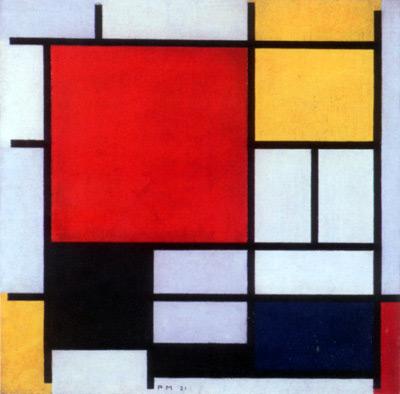Obra de Piet Modrian