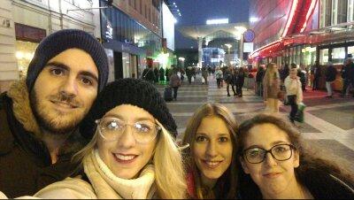 Nuestro alumnado Erasmus en Polonia